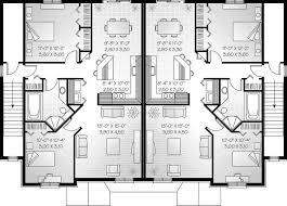 single story multi family house plans best of multi family homes plans luxury multi family home