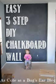 bedroom easy 3 step chalkboard wall chalkboard paint diy chalkboard paint full size of 3 step
