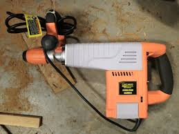 harbor freight hammer drill. the discontinued hf demo hammer that usually does a great job driving rebar harbor freight drill