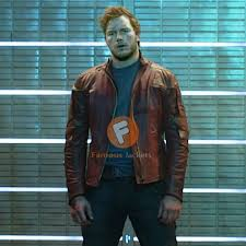 guardians of the galaxy chris pratt leather jacket star lord leather jacket