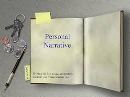 personal narrative writing the first essay connectors habitual  1 personal narrative writing the first essay connectors habitual past versus simple past