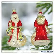 Christbaumanhänger Weihnachtsmann Groß Roter Mantel