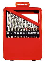 Купить <b>Набор сверл Металл</b>, <b>2-8</b> мм (через 0.5 мм), HSS, 13 шт ...