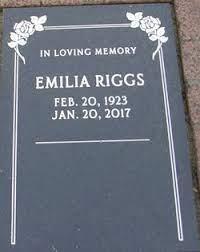 Emilia Riggs (1923-2017) - Find A Grave Memorial