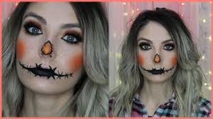 glam scarecrow costume makeup