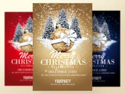 Christmas Flyer Templates Christmas Flyer Templates By Rome Creation On Dribbble