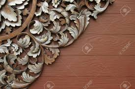Wood Carving Patterns Mesmerizing Wood Carving Patterns Stock Photo Picture And Royalty Free Image