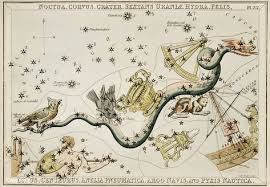 Argo Steam Charts Sidney Halls 1831 Astronomical Chart Illustration Of The