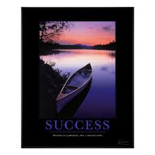 Success Posters Motivational Posters Success Canoe Motivational Poster