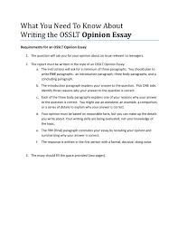 Does An Essay Have Paragraphs What You Need To Know About Writing The Osslt Opinion