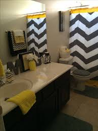 Yellow And Black Bathroom Accessories