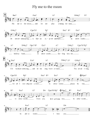 Fly Me To The Moon Frank Sinatra Sheet Music For Trumpet