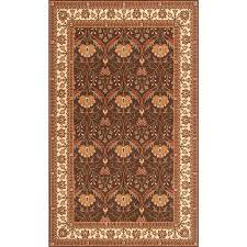 persian garden cocoa 10 ft x 13 ft indoor area rug