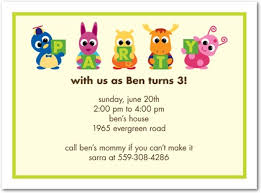 Kids Birthday Party Invitations - cloveranddot.Com