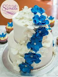 Cakes By Sonali Simple And Elegant 2 Tier Wedding Cake Facebook