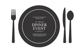 dinner template dinner event flyer template postermywall