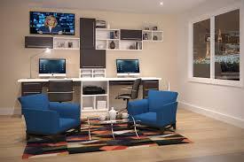 dual desk bookshelf small. Desk. Artistic Ideas Dual Desk Home Office. Office Bookshelf Small 9