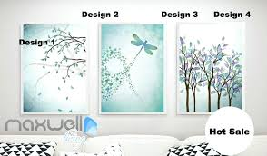 dragonflies wall decals green theme branch dragonfly canvas prints wall decals kids art decor unframed 3d dragonfly wall decals