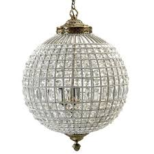 Nordal Lampe Kugellampe Crystal Hängelampe Kugel