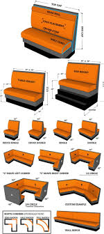 dining booth furniture. 50 amazingly clever cheat sheets to simplify home decorating projects page restaurants kitchen booths and kitchens dining booth furniture