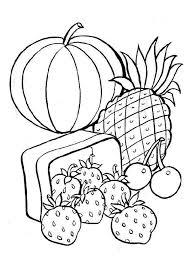 Kleurplaat Fruit 4803 Kleurplaten