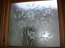 window glass design in kerala home