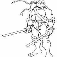 Kleurplaten Ninja Turtles Kleurplaten Kleurplaatnl