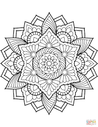 Coloring Pages Ideas Coloring Pages Ideas Flower Mandala Meaning To