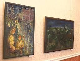 Региональным властям показали работы орловских молодых художников  Эти пейзажи дипломные работы выпускников орловского художественного училища