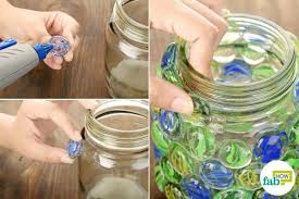 How To Decorate A Glass Jar Best DIY Decoration Ideas to Brighten Up Your Homes This Diwali 76