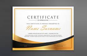 Printable Awards And Certificates 27 Printable Award Certificate Templates Free Premium Word Pdf