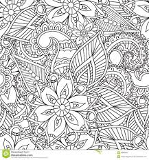 Abstract Coloring Pages For Adults Sheets And Artists Mandala Free