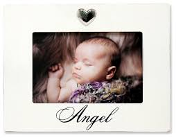 6x4 white wash angel picture frame heart ornament contemporary picture frames by lawrence frames