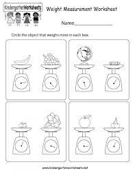 Mathorksheets Measuring For Kindergarten Temperature Printables ...