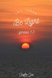 Let There Be Light Verse