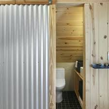 corrugated metal bathroom walls bathroom corrugated metal wall design ideas pictures remodel and decor home design