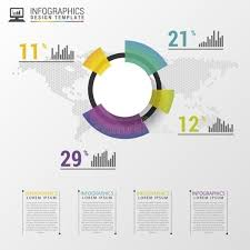Modern Pie Chart Abstract Pie Chart Graphic For Business Design Modern