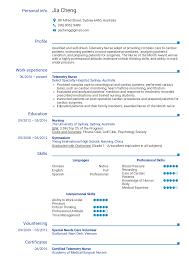 Sample Cardiac Nurse Resume Resume Examples By Real People Telemetry Nurse Resume