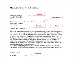 14 proper letter formats free sample example format inside proper letter format
