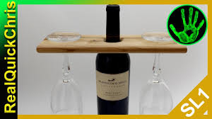 easy diy wooden wine bottle glass holder wood rack hanging tall white hanger wall mounted cabinet