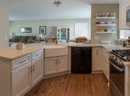 Furniture Fabulous Kitchen With White Wood Schrock Cabinets And