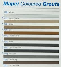 Tile Grout Color Chart Kerapoxy Grout Frontrowinternational Co