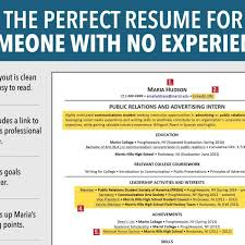 Resume For Job Seeker With No Experience Business Insider Within Interesting Business Insider Resume