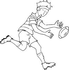 Coloriage Joueur De Rugby Imprimer Sur Coloriages Info