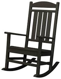hanover pineapple cay all weather rocking chair black
