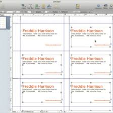 Pages Tutorial Create Your Own Professional Business Cards