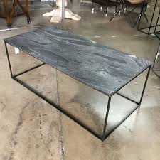 Slate top coffee table Tile Slate Top Coffee Table Better Homes And Gardens Slate Top Coffee Table Nadeau Miami