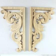 appliques wood decorative wood appliques wood carving decal corner applique frame door decorate wall door decorative appliques wood