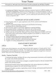 Canadian Resume Format Template Canada Sample Resume