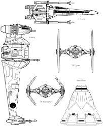 Starfighter Size Comparison Chart Guerra Nas Estrelas